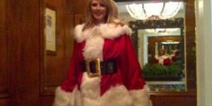 Sambut Natal, Heidi Klum dan Imogen Thomas Jadi Sinterklas Seksi di Twitter