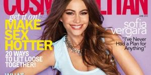 Sofia Vergara Pamer Dada 32F di Cover Cosmopolitan