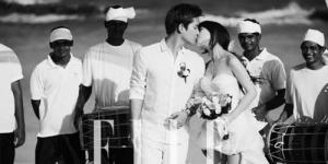 Sunye Wonder Girls Beri Ciuman Romantis James Park di Majalah Elle