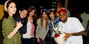 T-ara N4 Kolaborasi Dengan Chris Brown