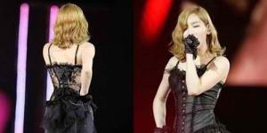 Taeyeon 'SNSD' Konser Pakai Lingerie Tranparan