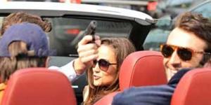Teman Prianya Acungkan Pistol, Adik Kate Middleton Hanya 'Nyengir'