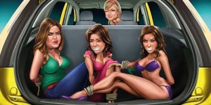 Terlalu Vulgar, Kartun Penculikan Kardashian di Iklan Ford Ditarik