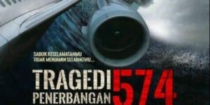 Tragedi Penerbangan 574 Angkat Kisah Kecelakaan Pesawat KI-574
