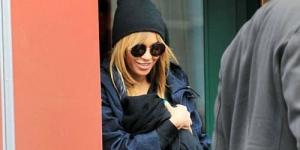Ups! Beyonce Menyusui Bayinya di Tempat Umum