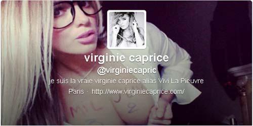 Bintang Porno Prancis, Virginie Caprice Sambut David Beckham dengan Foto Bugil