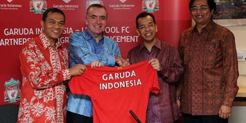 Kini Garuda Indonesia Ada Dikandang Liverpool