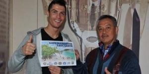 Cristiano Ronaldo Jadi Duta Mangrove Indonesia