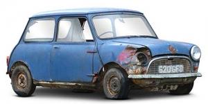 Mobil Mini Lawas ini Dilelang Rp 148 juta