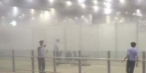 Detik-detik Meledaknya Bom di Bandara Beijing, China