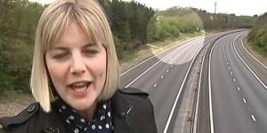Hantu Terekam Kamera Acara Berita TV Inggris
