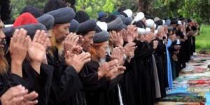 Jamaah An-Nadzir Gowa Sulawesi Selatan Lebaran Hari Ini