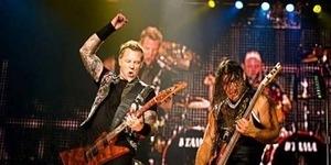 Malu Dengar Lagu Cengeng, Bocah SD ini Nonton Konser Metallica