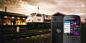 Sekarang Bisa Pesan Tiket Kereta Api Lewat BlackBerry