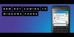 BlackBerry Messenger Tidak Hadir di Windows Phone