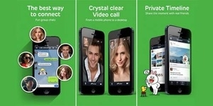 Fitur Baru LINE : Video Call dan Snap Movie