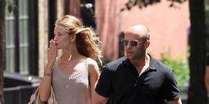Jason Statham - Rosie Huntington Putus