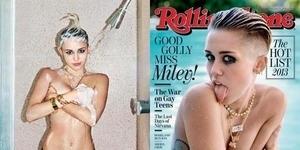 (Lagi) Kini Miley Cyrus Bugil di Majalah Rolling Stone