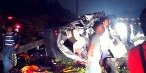 Nama-nama Korban Kecelakaan Maut Tol Jagorawi