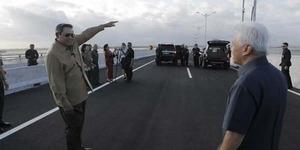 SBY Resmikan Tol Bali Mandara, Jalan Tol Pertama di Atas Laut