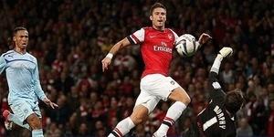 Striker Arsenal Olivier Giroud Bidik Golden Foot