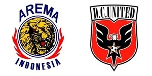 8 Desember 2013, Arema Indonesia Tantang DC United di Malang