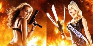Alexa Vega dan Amber Heard Tampil Seksi dan Sangar di Poster Machete Kills