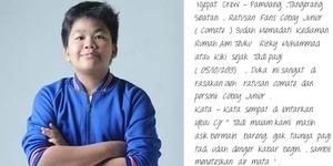Berita Kiki Coboy Junior Meninggal Dunia Adalah Ulah Hacker?
