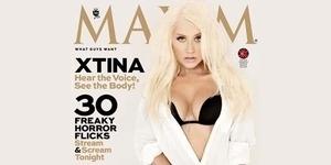 Christina Aguilera Tunjukkan Keindahan Tubuh Seksinya di Maxim