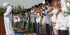 Jemaah Naqsabandiyah Rayakan Idul Adha Minggu 13 Oktober 2013