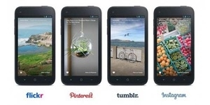 Konten Instagram, Tumblr, Flickr dan Pinterest Kini Muncul di Facebook Home