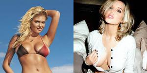 Model Seksi dan Montok Kate Upton - Helen Flanagan jadi Bond Girl Terbaru, Pilih Mana?