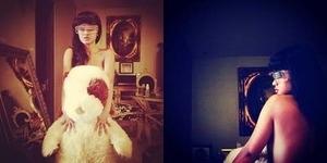 Rayakan Hari Tanpa Bra, Julia Perez Unggah Foto Topless