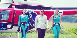 Seksinya Aura Kasih, Tyas Mirasih dan Vicky Shu di AXE Apollo