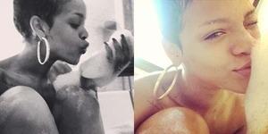 Usai Berpose dengan Jilbab, Rihanna Unggah Foto Bugil