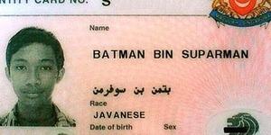 Batman bin Suparman Masuk Penjara di Singapura (Hah?!)