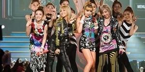2014, 2NE1 Gelar Konser di Indonesia