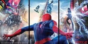 3 Sosok Musuh Tampil di Poster Baru The Amazing Spider-Man 2