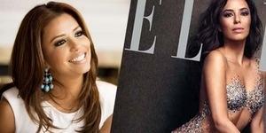 Berpose Bugil, Eva Longoria Tampil Berkilau untuk Majalah Elle