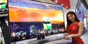 Samsung Luncurkan TV Layar Lengkung 105 Inchi Ultra HD