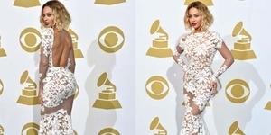 Beyonce Tampil Cantik dengan Gaun Seksi Menerawang