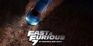 Fast and Furious 7 Rilis Teaser Poster