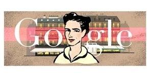 Google Peringati HUT Simone de Beauvoir Ke-106