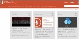 Hacker Suriah, SEA Meretas Blog Microsoft Office