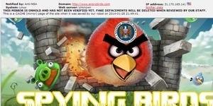 Jadi Alat Sadap NSA, Situs Angry Birds Dihack