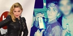 Madonna Pamer Foto Anaknya Pegang Botol Miras