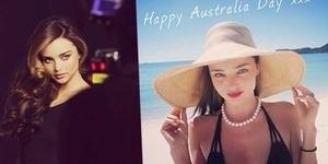 Miranda Kerr Rayakan Australia Day dengan Bikini Seksi