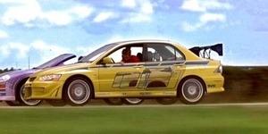 Mitsubishi Lancer Evolution Paul Walker di 2 Fast 2 Furious Dilelang