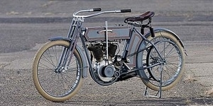 Motor Harley-Davidson 7D Twin Berusia 103 Tahun Dilelang