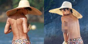 Rihanna Pamer Payudara di Vogue Brasil